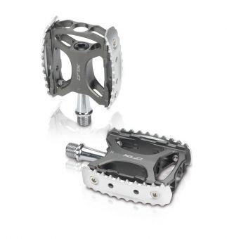 XLC MTB Trekking Pedal PD-M17 grau/silber