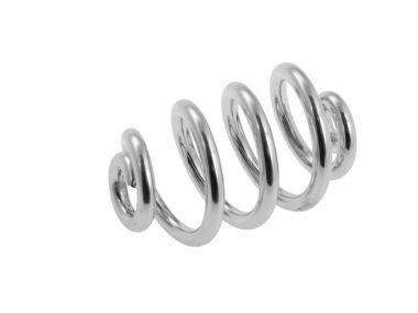 Spiralfeder links BYB 236 chrom