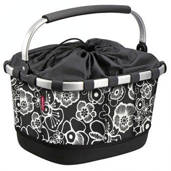 KLICKfix Carrybag GT Uniklip Fleur Schwarz