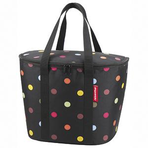 KLICKfix ISO Basket Bag Dots