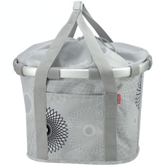 KLICKfix Bike Basket Crystals Light von Reisenthel
