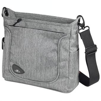 KLICKfix Lenkertasche Allegra Fashion Grey
