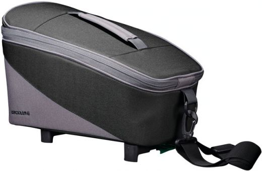 Racktime Gepäckträgertasche Talis black-grey