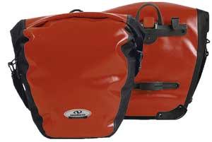 Norco Arkansas Gepäckträger Tasche wasserdicht rot