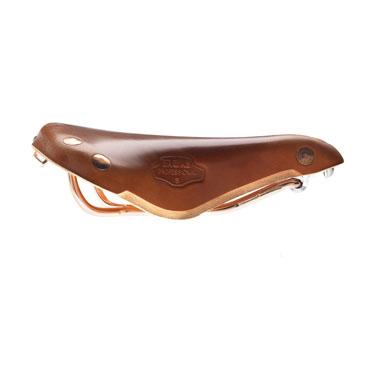 Brooks Sattel Team Pro Copper Honey