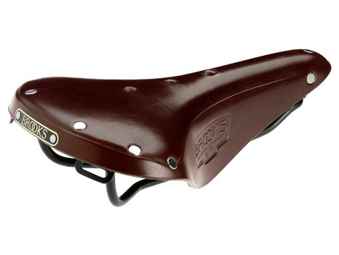 Brooks Sattel B17 Standard braun