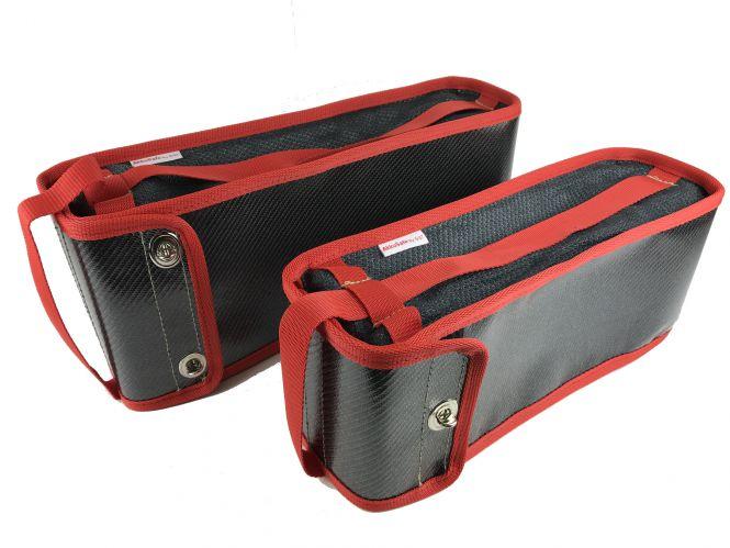 AkkuSafe Tasche für Bosch Gepäckträger Akku