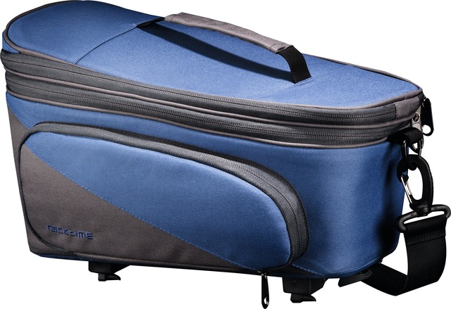 Racktime Gepäckträgertasche Talis Plus blue-grey