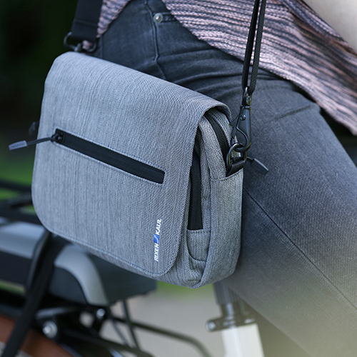 klickfix lenkertasche smart bag touch grau lenkertasche g nstig kaufen bei radsport. Black Bedroom Furniture Sets. Home Design Ideas