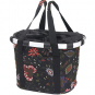 KLICKfix Bike Basket Folklore Black von Reisenthel