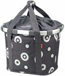 KLICKfix Bike Basket Bubbles Anthrazit von Reisenthel