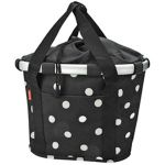 KLICKfix Bike Basket Black Dots von Reisenthel