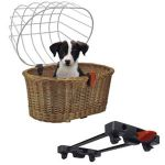 KLICKfix Hundekorb Doggy Basket für Racktime