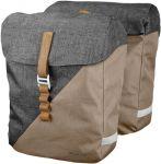 Racktime Doppel Packtasche Heda sand/grey