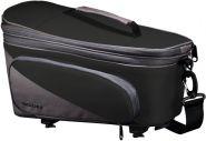 Racktime Gepäckträgertasche Talis Plus black-grey